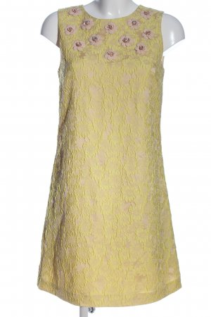Hallhuber Donna Falda estilo lápiz nude-blanco puro look casual