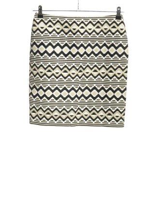 Hallhuber Donna Bleistiftrock grafisches Muster Casual-Look