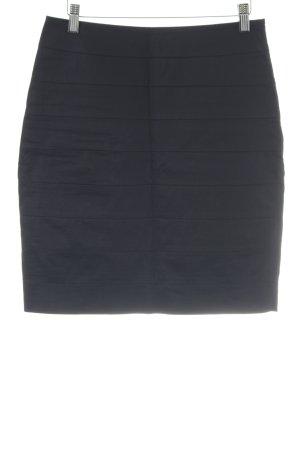 Hallhuber Donna Bleistiftrock schwarz schlichter Stil