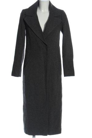 Hallhuber Donna bodenlanger Mantel schwarz Casual-Look