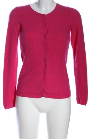 Hallhuber Donna Cardigan pink Casual-Look