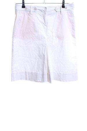 Hallhuber Donna Falda estilo cargo blanco look casual