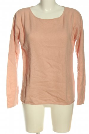 Hallhuber Donna Cashmere Jumper nude casual look