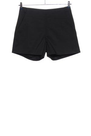 Hallhuber Donna High-Waist-Shorts schwarz Casual-Look