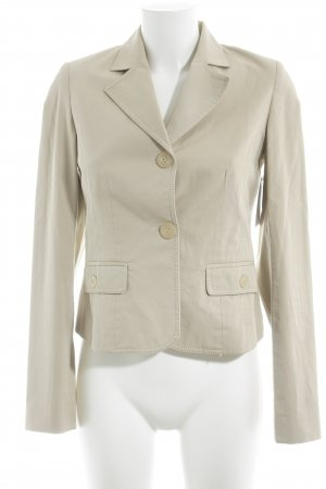 Hallhuber Donna Jerseyblazer beige Business-Look