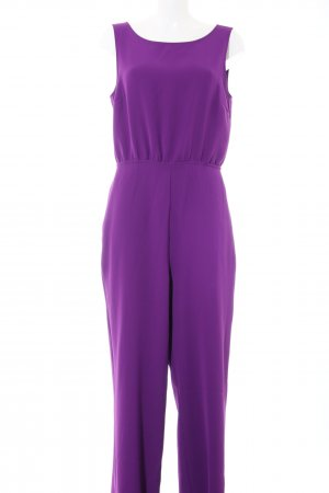 Hallhuber Donna Jumpsuit lila Casual-Look