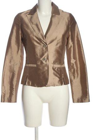 Hallhuber Donna Kurz-Blazer bronzefarben Casual-Look