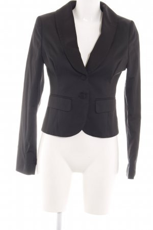 Hallhuber Donna Kurz-Blazer schwarz Business-Look