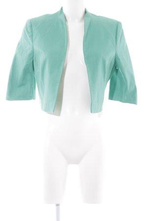 Hallhuber Donna Kurz-Blazer hellgrün schlichter Stil