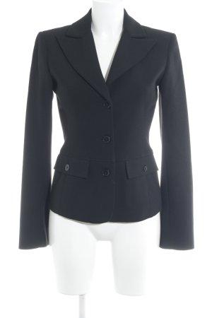 Hallhuber Donna Kurz-Blazer schwarz-weiß Business-Look