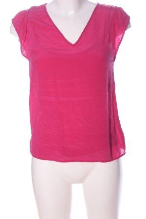 Hallhuber Donna Short Sleeved Blouse pink business style