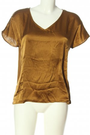 Hallhuber Donna Short Sleeved Blouse bronze-colored casual look
