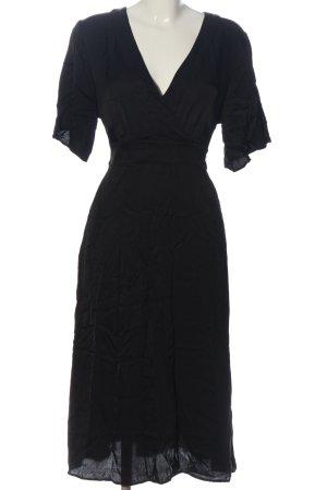 Hallhuber Donna Kurzarmkleid schwarz Elegant