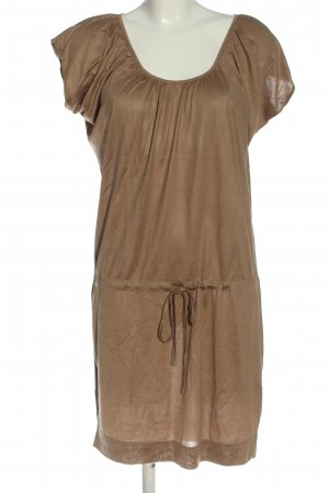 Hallhuber Donna Shortsleeve Dress brown casual look
