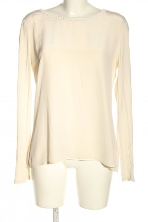 Hallhuber Donna Langarm-Bluse creme Business-Look