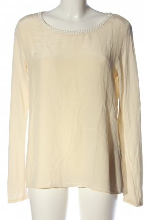 Hallhuber Donna Langarm-Bluse creme Casual-Look