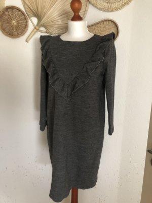 Hallhuber Donna Longsleeve Dress light grey-grey