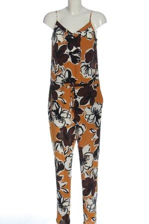 Hallhuber Donna Langer Jumpsuit allover print casual look