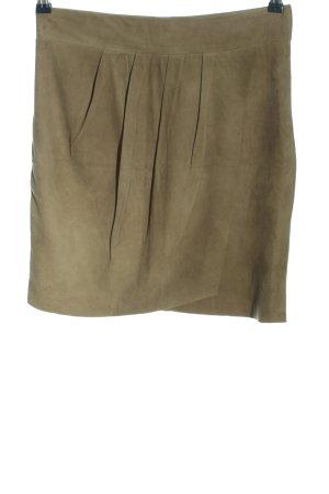 Hallhuber Donna Lederrock khaki Casual-Look