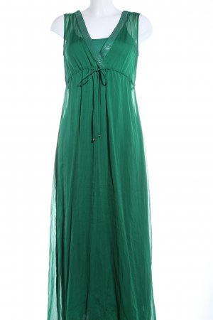 Hallhuber Donna Maxikleid grün Elegant