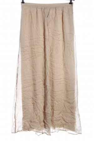 Hallhuber Donna Maxi Skirt cream casual look