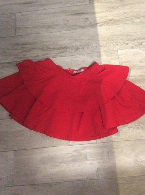 Hallhuber Donna Broomstick Skirt red