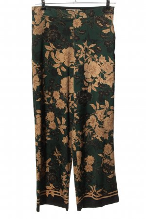 Hallhuber Donna Palazzo Pants flower pattern casual look