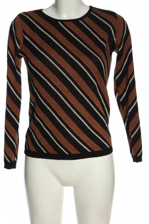 Hallhuber Donna Crewneck Sweater striped pattern casual look