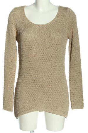 Hallhuber Donna Crewneck Sweater cream casual look