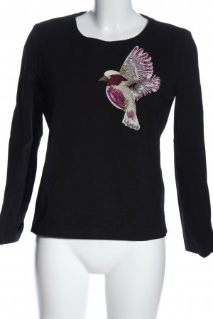Hallhuber Donna Crewneck Sweater animal pattern casual look