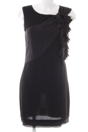 Hallhuber Donna Seidenbluse schwarz Elegant
