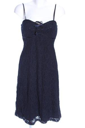 Hallhuber Donna Spitzenkleid blau Elegant