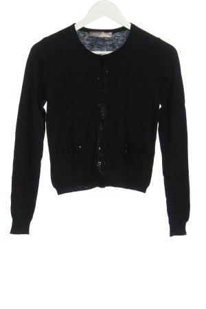 Hallhuber Donna Knitted Bolero black elegant
