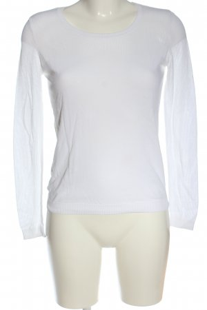 Hallhuber Donna Knitted Sweater white casual look