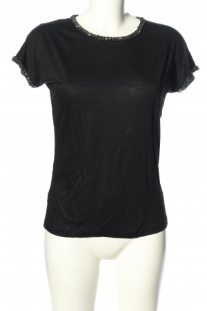 Hallhuber Donna T-Shirt schwarz Casual-Look