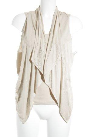 Hallhuber Donna Tanktop beige simpele stijl