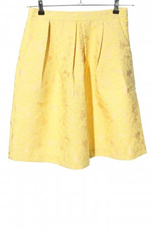 Hallhuber Donna Circle Skirt primrose mixture fibre