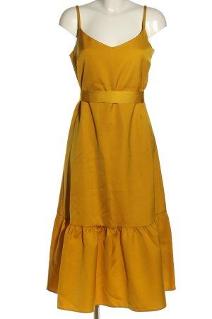 Hallhuber Donna Trägerkleid goldfarben Elegant