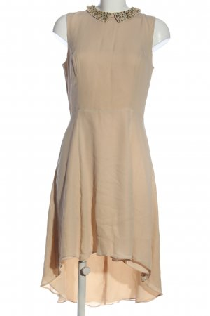 Hallhuber Donna Vokuhila-Kleid creme Elegant