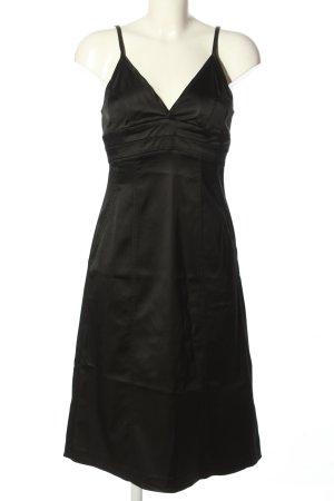 Hallhuber Donna Trägerkleid schwarz Elegant