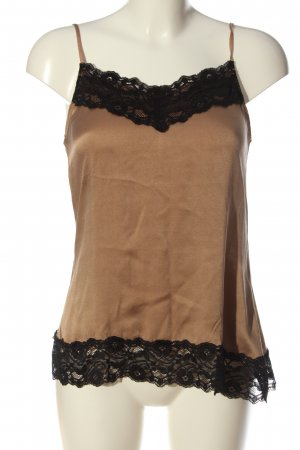 Hallhuber Donna Strappy Top bronze-colored-black casual look