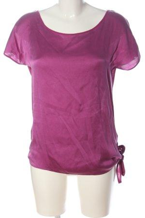 Hallhuber Donna U-Boot-Shirt pink Casual-Look