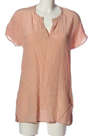 Hallhuber Donna V-Neck Shirt nude casual look