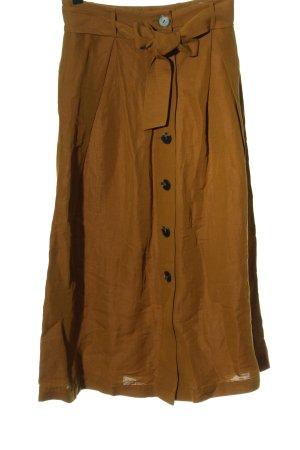 Hallhuber Donna Wraparound Skirt light orange casual look