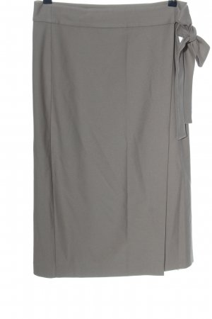 Hallhuber Donna Wraparound Skirt light grey casual look