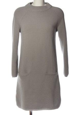 Hallhuber Donna Vestido de lana gris claro look casual