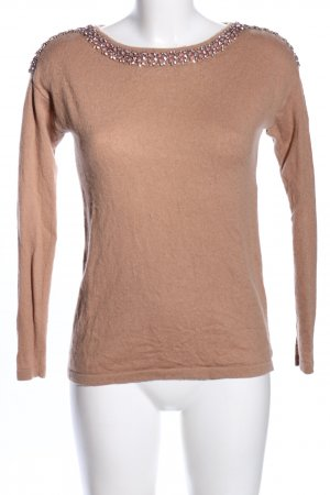 Hallhuber Donna Wool Sweater brown casual look