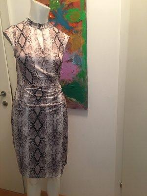 Hallhuber dress Kleid Schlangen Prinz wickeloptik Small Kofferteil
