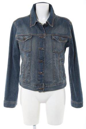 Hallhuber essentials Jeansjacke blau Casual-Look