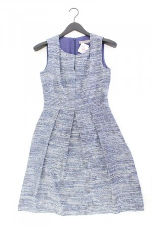 Hallhuber Etuikleid Größe 34 Ärmellos blau aus Polyester